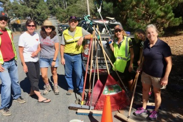 Adopt-A-Highway Cleanup Crew