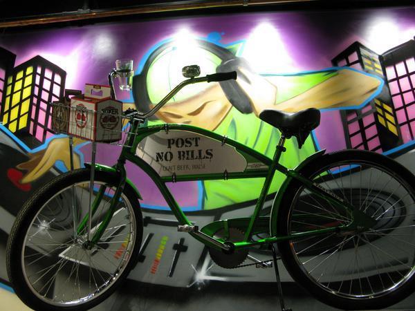 Post No Bills bicycle